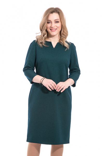 Платье больших размеров, П-481/11